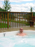Hot Tub Overlooking Nenana River