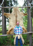 Bill with Grizzly Hide