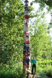 Tlingit Style Totem