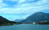 View of Carcross from Klondike Hwy
