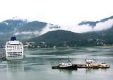 Arriving Juneau