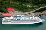 Island Princess in Juneau