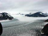 Ice and snow on Lower Norris Glacier