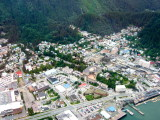 Juneau from Air