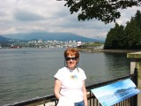View of N. Vancouver across Burrard Inlet