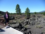 Lava Flow Trail at Sunset Crater, Volcano National Monument