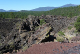 Lava Flow at Sunset Crater, Volcano National Monument