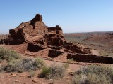 Remains of 100-room Pueblo from the 1100's
