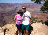 On the South Rim of the Grand Canyon