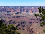 Isis Temple Viewed from Yavapai Point on the South Rim