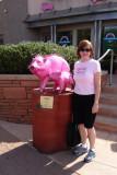 Pink Javelina Statue, Sedona, AZ