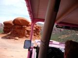 Driving Around Mushroom Rock