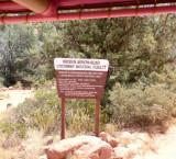 Leaving Broken Arrow Trail
