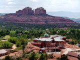 Cathedral Rock Viewed from Church of Holy Cross