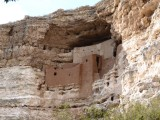 Montezuma Castle (700 AD) - Home of Sinagua Indians
