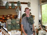 Bill at Montezuma Castle National Monument Store