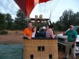 In the Balloon Gondola