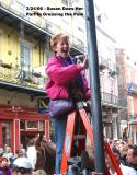 Susan Greases Pole