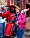 Susan & Captain Morgan @ Greasing of Poles