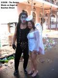 Demon & Angel on Bourbon St