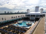 Pool Deck departing Buenos Aires