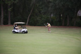 Ed on the links
