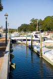 Boats in the Shelter Cove Marina