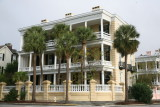 Historic house on the Battery in Charleston