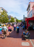 Cape May pedestrian mall