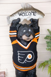 Hockey fan bear