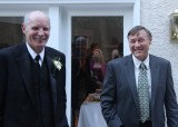 With my friend, Tom, whose son was the groom.