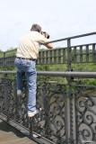 Dad Vail pose