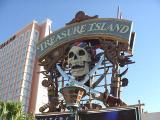 Treasure Island sign