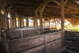 There is a lot to look at inside this barn. I am guessing one has to be good with angles.