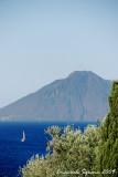 Stromboli Isle from Panarea Isle