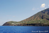 Stromboli I.: the small town of Ginostra