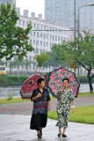 Colorful Umbrellas, P'yongyang