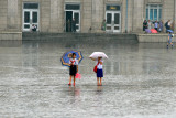 Girls in the Rain, P'yongyang