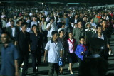 Crowds Leaving May Day Stadium after Arirang, P'yongyang