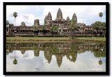 Angkor Wat Reflection, Angkor, Cambodia