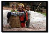 Behind a Basket, Shan State, Myanmar