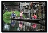 Daughters with Their Mother on Inle Lake, Myanmar.jpg