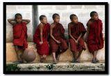 Little Monks Against a Wall, Shan State, Myanmar.jpg