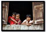 Window Watching, Shan State, Myanmar