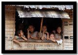 Kids Watching from Their House, Phongsaly, Laos.jpg