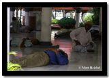 Respita before Prayers at Masjid Jamek, Kuala Lumpur, Malaysia.jpg