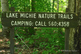 Trail Sign at Spruce Pine Lodge