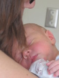 Sleeping with Mommy