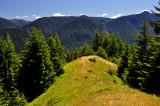 Facing south from Cedar Mountain