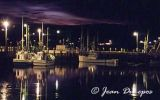 North Head Wharf on a calm late summer evening